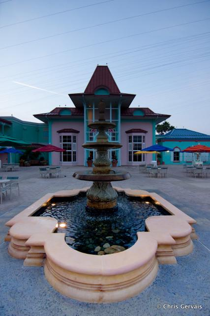 Caribbean Beach Resort OPR Fountain