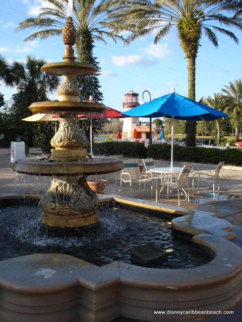 Fountain and Marina at Old Port Royale