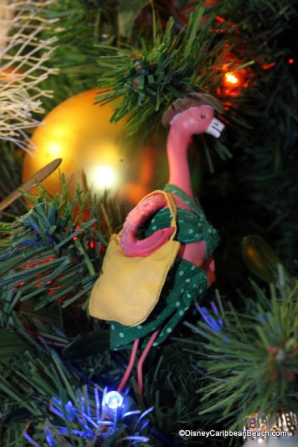 Flamingo ornament 2